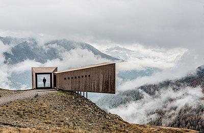 Aussichtspunkt in den Alpen - p1437m1502340 von Achim Bunz