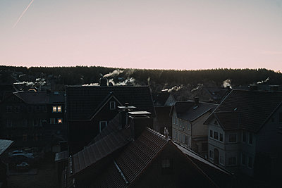 View of the roofs of Braunlage - p1184m1424089 by brabanski