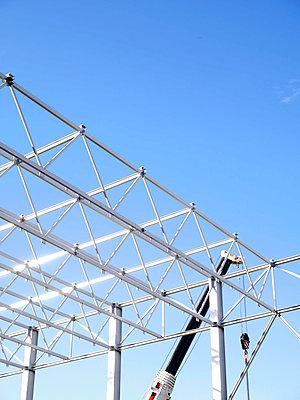 Stahlkonstruktion - p1021m1074157 von MORA