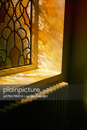 Stained glass window - p378m795314 by James Sebright
