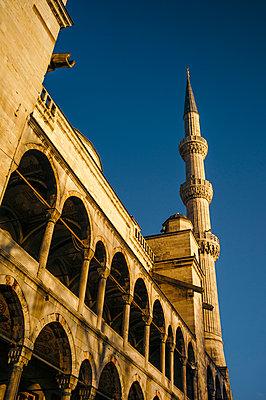 Türkei, Istanbul, Sultan Ahmet Moschee, Mausoleum - p1085m2203573 von David Carreno Hansen