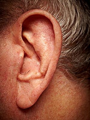 Ohr eines alten Mannes - p1092m1108896 von Rolf Driesen