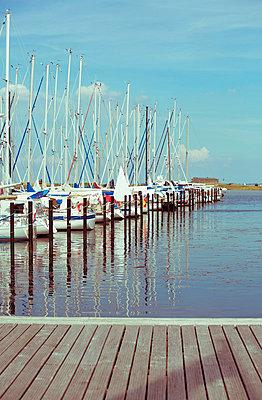 Sailing mast - p432m823917 by mia takahara