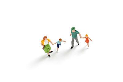 Spaziergang der Familie - p4500588 von Hanka Steidle