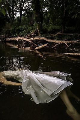 Totes Mädchen im Fluss - p1019m2107474 von Stephen Carroll