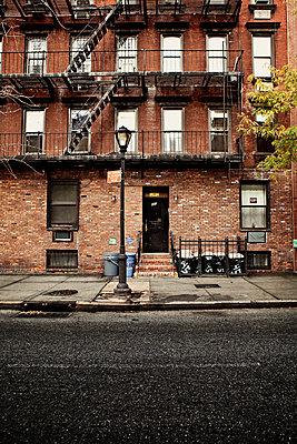 Wohnhäuser in Midtown Manhattan, NewYork - p1525m2087428 von Hergen Schimpf