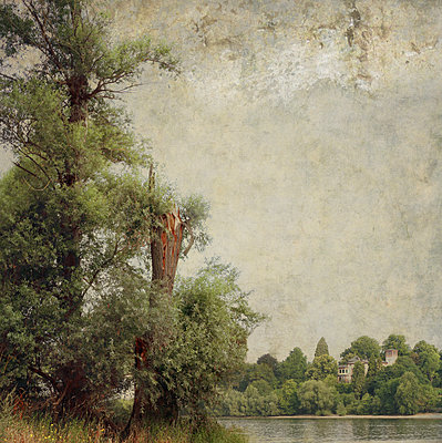 River Scene - p1633m2209984 by Bernd Webler