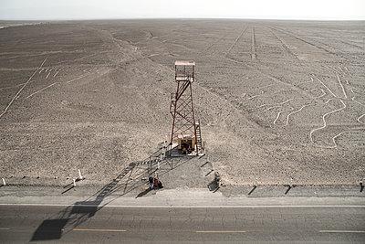 Peru, Lookout tower - p1643m2229358 by janice mersiovsky