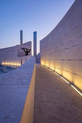 Portugal, Fundação Champalimaud, Amphitheatre - p335m2177638 by Andreas Körner