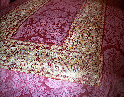 Brocade blanket - p945m2028045 by aurelia frey