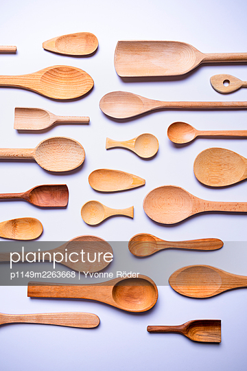 Wooden spoons - p1149m2263668 by Yvonne Röder