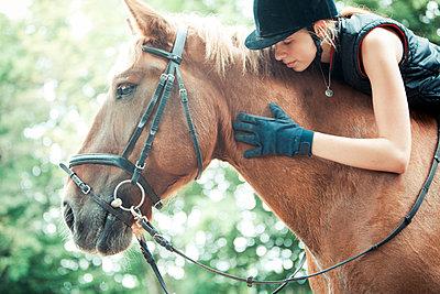 Horse-riding - p1076m952379 by TOBSN