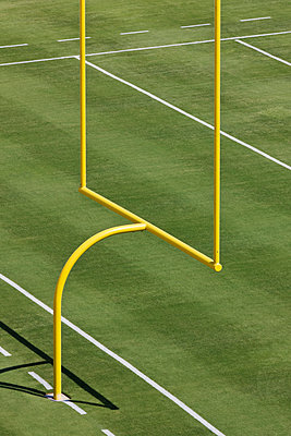 Football Goal Post - p1100m2090947 by Mint Images