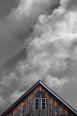 Holzhaus - p450m1146950 von Hanka Steidle