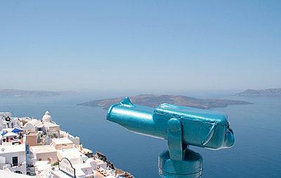 Santorini Aussichtspunkt - p0452139 von Jasmin Sander
