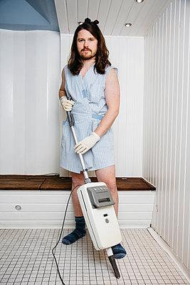 Man at work - p1621m2260189 by Anke Doerschlen