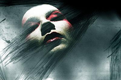 Gesicht einer Frau - p979m1118740 von Zickert