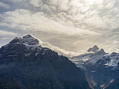 Eiger, Kleine Scheidegg - p1267m1514210 von Wolf Meier