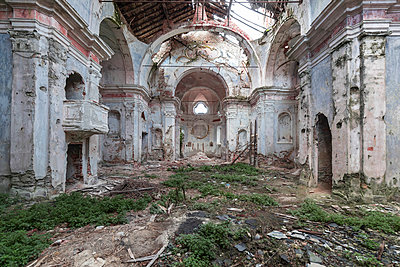 Abandoned church - p1440m1497516 by terence abela