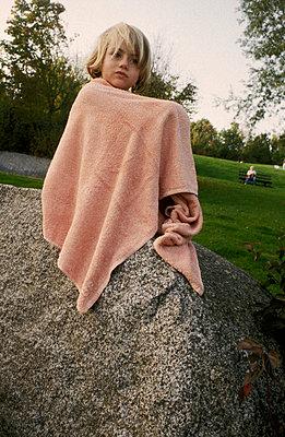 Ins Handtuch gekuschelt - p0460220 von Hexx