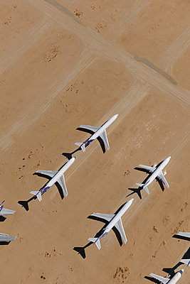 Boeing jets stored - p1048m1058615 by Mark Wagner