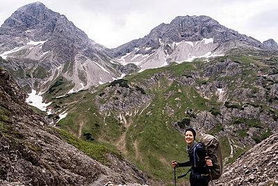 Aufstieg zum Mädele Joch - p117m2111006 von Katja Nitsche