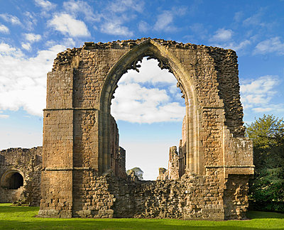 Lilleshall Abbey. East end of the church. - p8551766 by Peter Williams