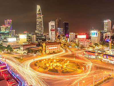 City of Saigon at night - p393m1452294 by Manuel Krug