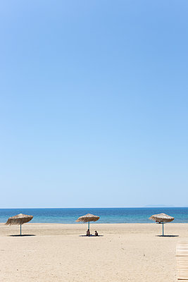 Mittags am Strand - p454m2163858 von Lubitz + Dorner