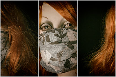 Mask Home Made  - p1543m2181572 by Sophia Snadli