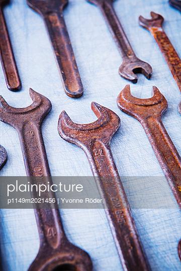 Schraubenschlüssel - p1149m2021456 von Yvonne Röder