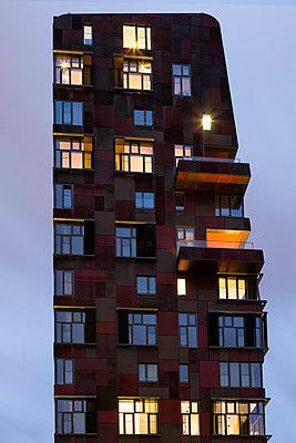Hafencity am Abend - p1222m1333240 von Jérome Gerull