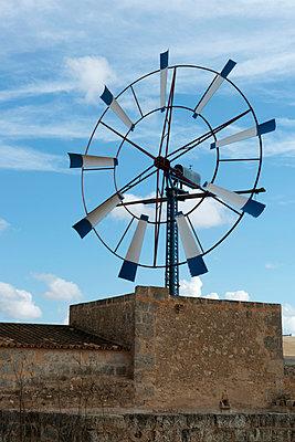 Wind wheel - p451m940555 by Anja Weber-Decker