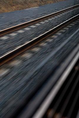 Bahnfahren - p8700001 von Gilles Rigoulet