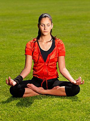 Yoga - p2270678 von Uwe Nölke