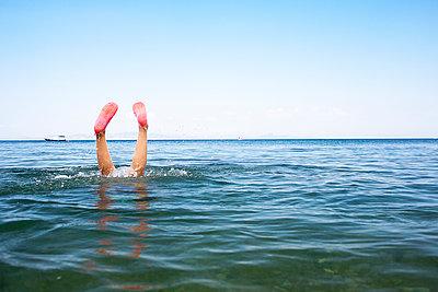 Kinder im Meer - p1386m1452210 von beesch