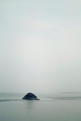 Felsen im Meer, Poel - p992m1016120 von Carmen Spitznagel