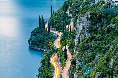 Strada della Forra, Tremosine, lake Garda, Brescia district, Lombardy, Italy. - p651m2006206 by Marco Bottigelli