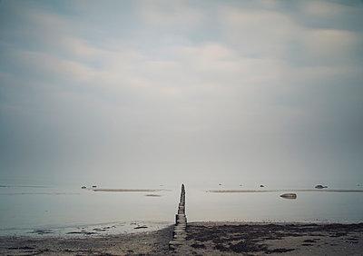 Buhne an der Ostsee - p992m1016121 von Carmen Spitznagel