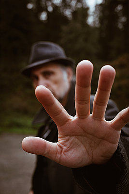 Man hands - p1623m2223290 by Donatella Loi
