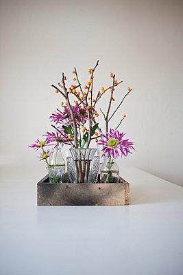 Blumen und Sanddorn - p586m859621 von Kniel Synnatzschke