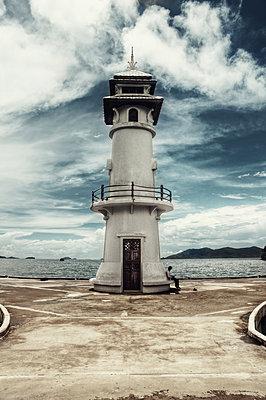 Lighthouse is Thailand - p1072m830390 by Joe Eitzen