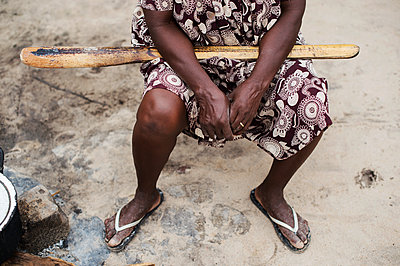 Africa, Namibia, African woman - p1167m2272275 by Maria Schiffer