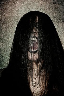 Vampire screaming - p794m813266 by Mohamad Itani