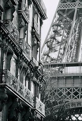 Eiffel Architectue - p1072m829253 by Neville Mountford-Hoare