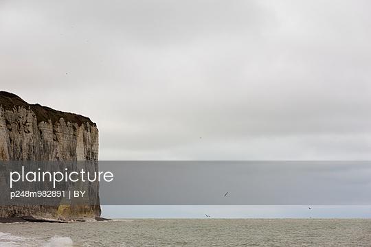 Steilklippe, Alabasterküste, Normandie - p248m982891 von BY