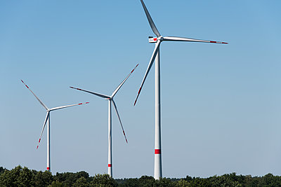 Windpark Hollich-Sellen - p1079m1552944 von Ulrich Mertens