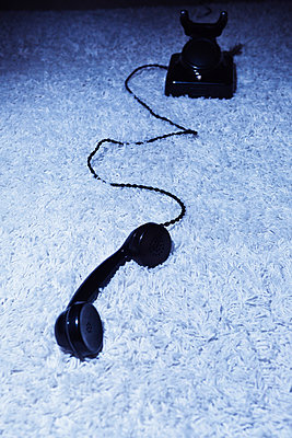 Nostalgic telephone - p1149m2028447 by Yvonne Röder