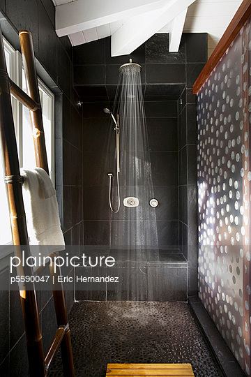 Interior of a modern shower - p5590047 by Eric Hernandez