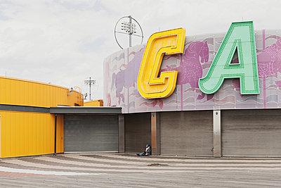 Coney Island Carousel - p1340m1461272 von Christoph Lodewick